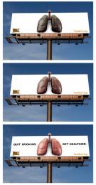 Quit: Quit Smoking. Get Healthier. Outdoor Advert by EnviroMedia
