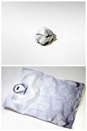 The Ironing Service: Ironing Service Crumpled Print Ad by BJL Manchester
