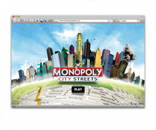 Monopoly: CITY STREETS Digital Advert by Tribal London