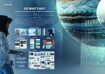 Microsoft: See Whats Next [image] Digital Advert by m:united, McCann New York, Tool Of North America