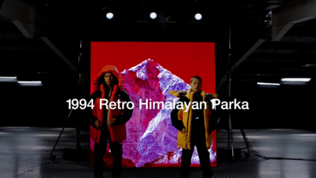 The North Face: 1994 Retro Himalayan Parka Film by Baked