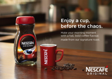 Nescafe: Make Your Morning Moment, 2 Print Ad by Publicis London