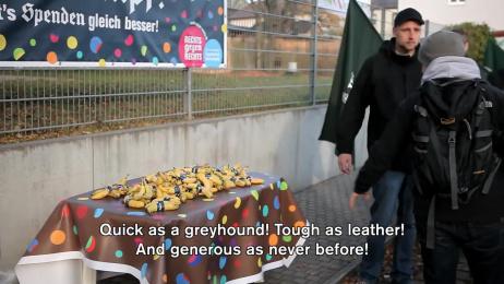 ZDK Gesellschaft Demokratische Kultur: Nazis Against Nazis – Germany's Most Involuntary Charity Walk [alternative] Case study by GGH Lowe Hamburg, Grabarz & Partner Hamburg, Harvest