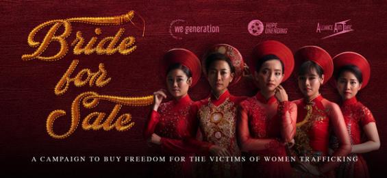 Alliance Anti-Trafic: Bride for Sale Digital Advert by VMLY&R
