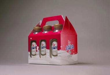 Lala Milk: Six Design & Branding by Circus DF Mexico