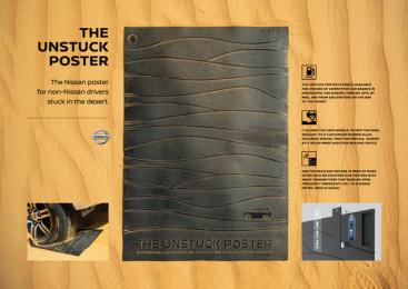 Nissan: Nissan Unstuck Poster, 2 Case study by TBWA\RAAD Dubai