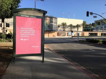 Postmates: We Get It - Callback Outdoor Advert by 180 LA