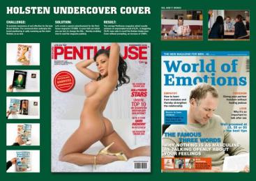 Holsten Pilsener: UNDERCOVER COVER Print Ad by Scholz & Friends Hamburg