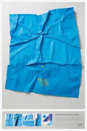 Fini: Sour Face Blue Print Ad by Borghi/Lowe Sao Paulo