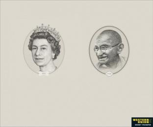 Western Union: POUND Print Ad by McCann Erickson Mumbai