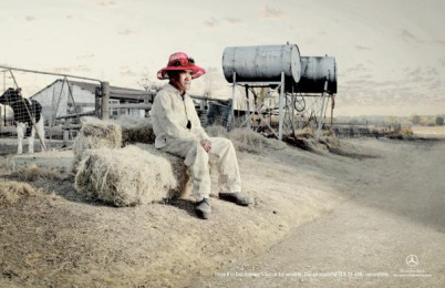 Mercedes-Benz: Hat Print Ad by Leo Burnett Johannesburg
