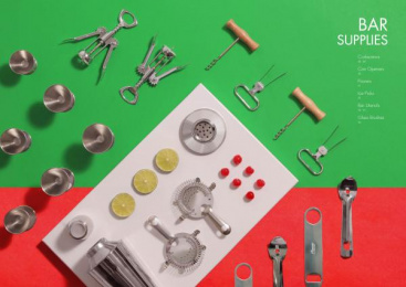 Alegacy: Bar supplies Print Ad by Miller Group Marketing