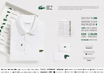 Lacoste: Lacoste Design & Branding by BETC