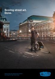 Tyrolit: Scoring Print Ad by Heimat Wien
