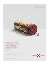 Celebrity Cruises: Cork Print Ad by Pacific Digital Image, Venables Bell & Partners