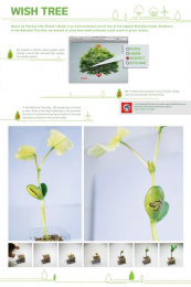 Banco do Planeta: Wish Tree Print Ad by Age Comunicacoes Sao Paulo, ALMAP BBDO Brazil