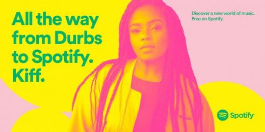 Spotify: Shekhina Outdoor Advert