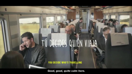 Renfe: Simeone Case Study Digital Advert by M&C Saatchi Madrid
