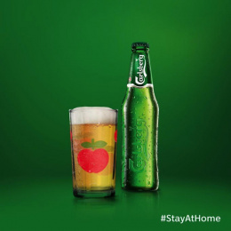 Carlsberg: #stayathome, 2 Print Ad by FCB Happiness Brussels