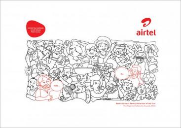 Airtel: Westerners Print Ad by Noah's Ark Lagos