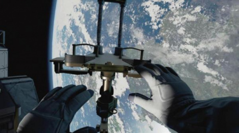 BBC: Home: A VR Spacewalk [supporting image] 4 Digital Advert by Rewind St. Albans