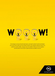 Opel: Thank you Print Ad by Scholz & Friends Zurich