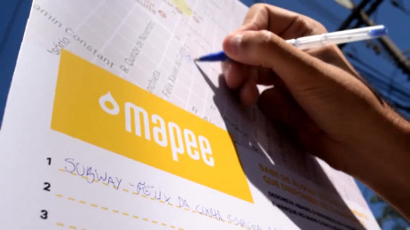 Mapee: Pee Map Ambient Advert by Carma Social Interventions