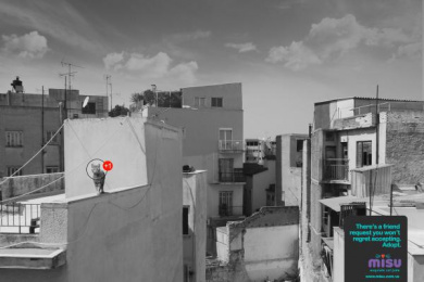 Misu: Rooftop Print Ad by Eliaschev Saatchi & Saatchi Caracas