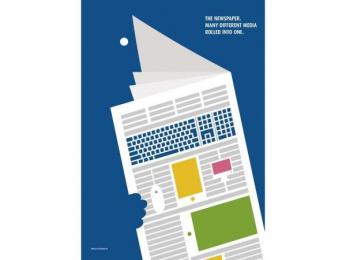 ZMG (NEWSPAPER MARKETING ASSOCIATION): The Other Side Of Newspaper, 3 Print Ad by Ogilvy & Mather Frankfurt