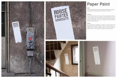 Danish House Painters Association: PAINT SIGNATURE Outdoor Advert by Grey Copenhagen