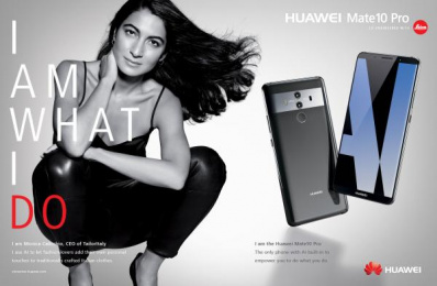 Huawei Mate10 Pro: I am What I Do, 10 Print Ad by Doner