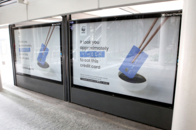 WWF: Your Plastic Diet, 8 Outdoor Advert by Grey Kuala Lumpur