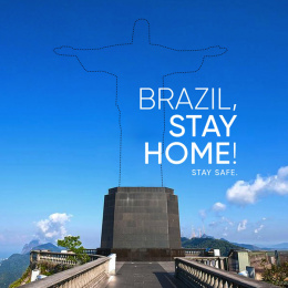 United Nations: World, Stay Home! - Brazil Digital Advert by L&K Saatchi & Saatchi Mumbai