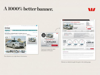 Westpac: 1000% BETTER BANNER Digital Advert by Lavender*