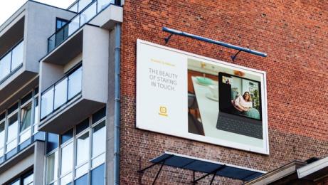 Telenet: Lockdown Portraits, 2 Print Ad by L.A. Initials, TBWA, Belgium