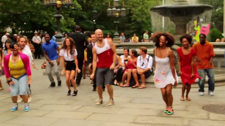 Malibu Rum: Flash Mob Ambient Advert by The Thomas Collective