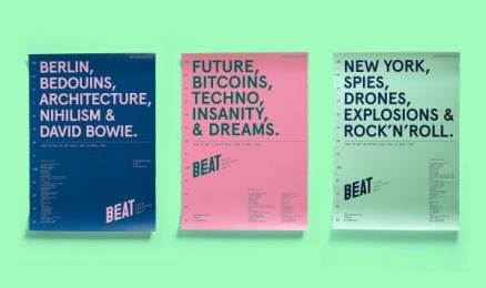 Beat Film Festival: Beat Film Festival Posters, 7 Print Ad by BBDO Moscow