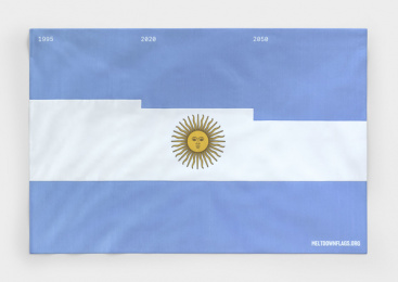 Meter Group: Meltdown Flags: Argentina Print Ad by Serviceplan, Germany