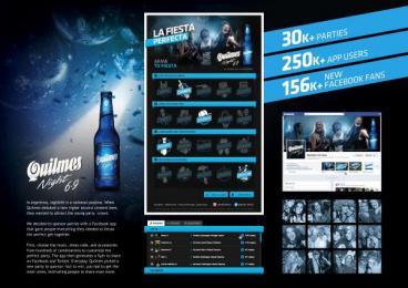 Quilmes Beer: QUILMES NIGHT FIESTA PERFECTA Digital Advert by R/GA Buenos Aires