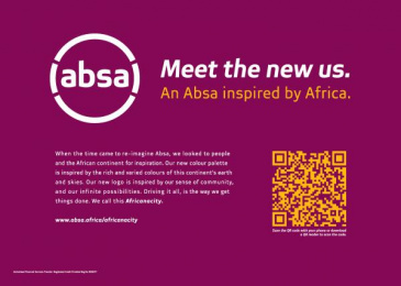 Absa Bank: Business Day - Meet The New Us, 1 Print Ad by FCB Johannesburg