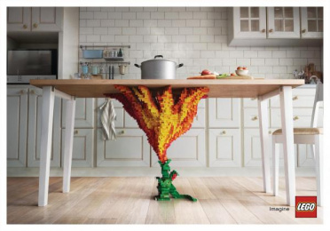 LEGO: LEGO Print Ad by Ogilvy & Mather Bangkok
