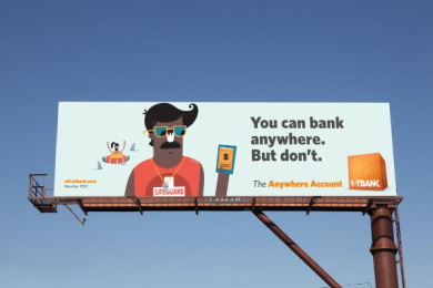 Firstbank: Lifeguard Outdoor Advert by TDA_Boulder