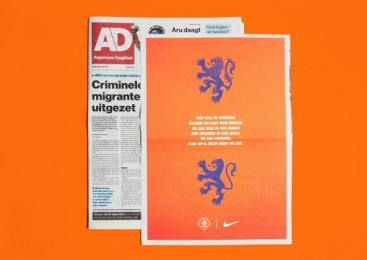 Nike: Nike Print Ad by Wieden + Kennedy Amsterdam