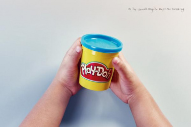 Play-doh: The seventh day Print Ad by DDB Bogota
