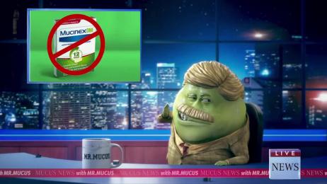 Mucinex: Breaking News Film by McCann New York