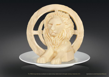 TBWA\: THE FIRST BUTTER LION IN CANNES Outdoor Advert by TBWA\ Dusseldorf