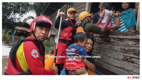 International Federation of Red Cross and Red Crescent Societies: 158 Years, 4 Print Ad by Porta Santiago