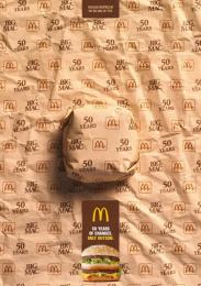 McDonald's: McDonald's Print Ad by Team collaboration