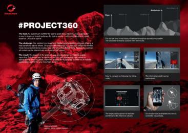 Mammut: #PROJECT360 Case study by Heye & Partner Munich