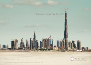 1st For Women Insurance Brokers: Dubai Print Ad by Black River F.C. Johannesburg